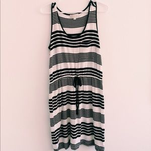 black and white dress/coverup